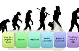 Evolution of data processing