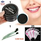 100 COCONUT ACTIVATED CHARCOAL NATURAL TEETH WHITENING TOOTH POWDER TOOTHPASTE