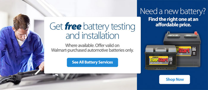 Car Battery Walmart Free Install Whats The Cost