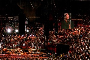 Bruce Springsteen Concert Photo Crowd Arena