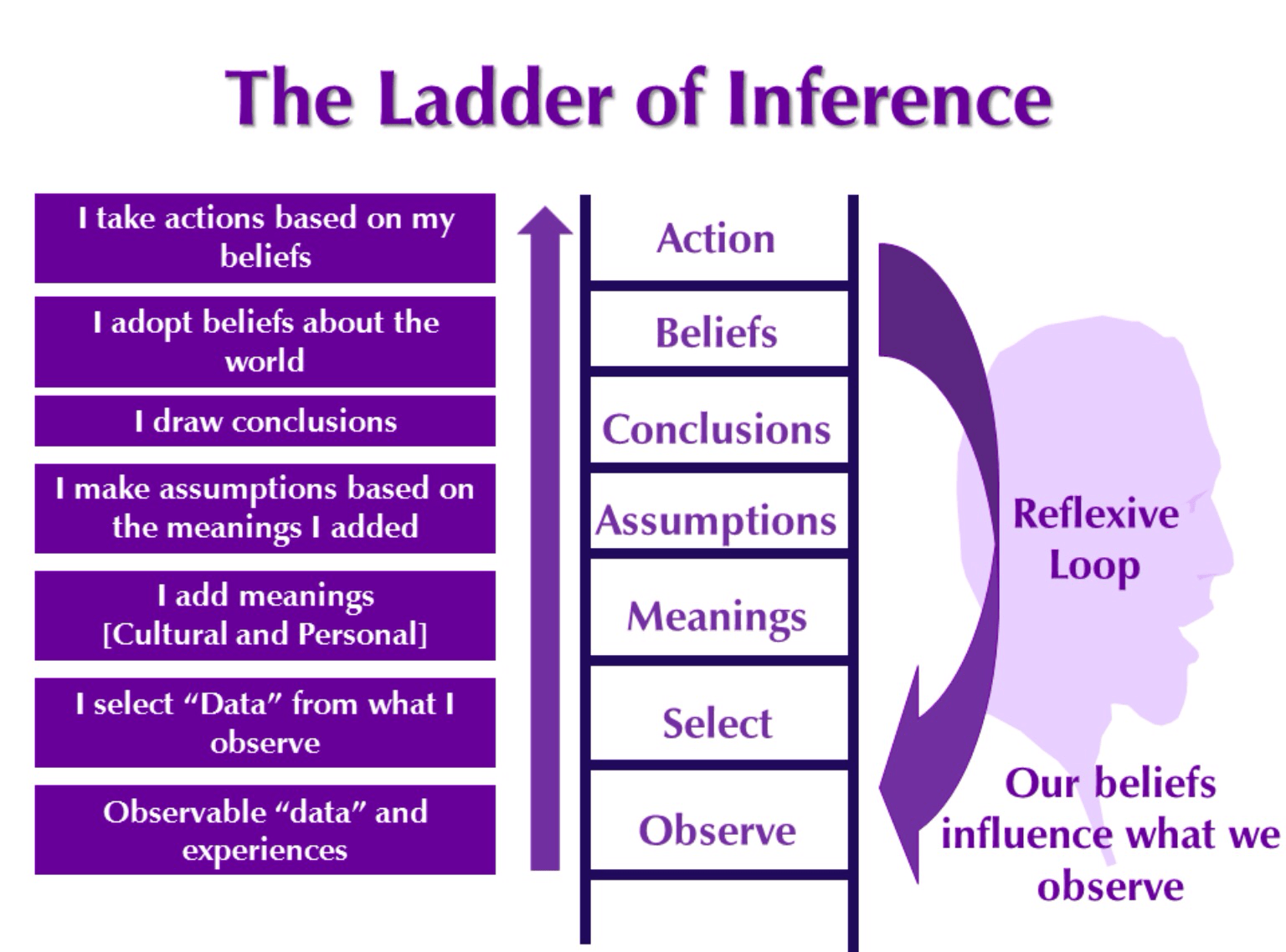 The Ladder Of Inference Climbing Down From Expert Bias