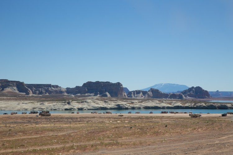 Rving at Lake Powell Van Life Southwest Utah