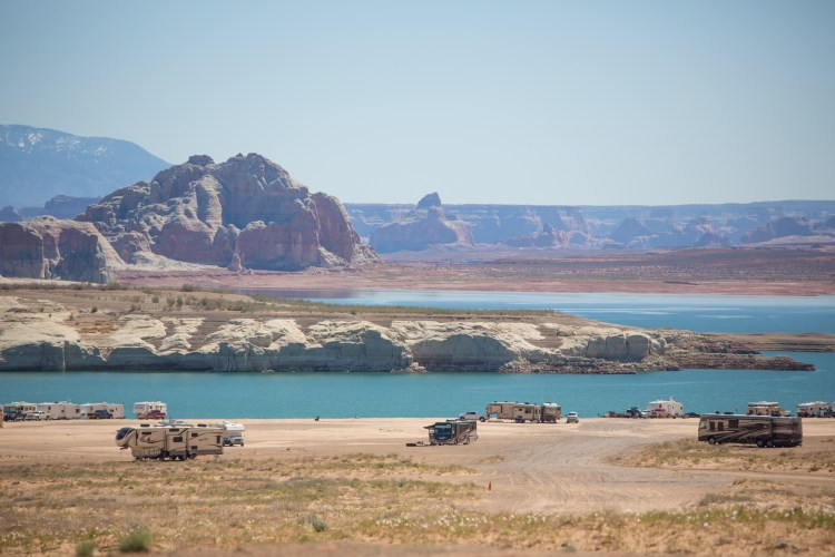 Lone Rock Beach, Lake Powell, Southwest Utah