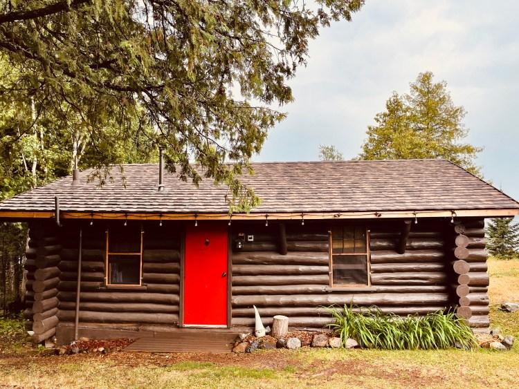 Poplar Haus cabin on Poplar Lake Gunflint Trail Minnesota