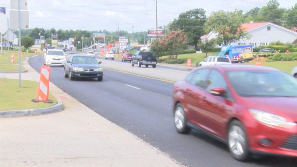Hurricane Florence could affect uneven lanes on Washington Road