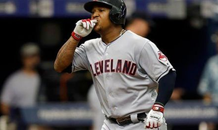 LEADING OFF: Indians can clinch, Cubs' new closer hurt