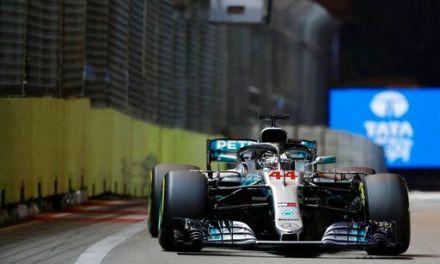 F1 leader Hamilton wins Singapore GP; Verstappen 2nd