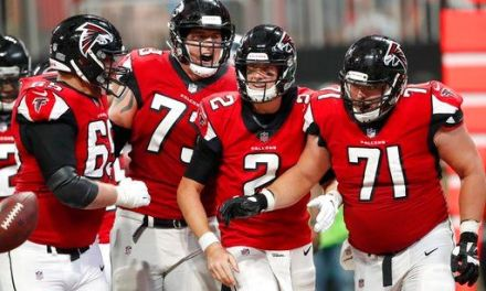 Ryan shines with arm and legs, Falcons beat Panthers 31-24