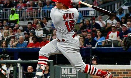 Wong begins Cardinals' homer parade in 11-6 win over Braves