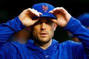(AP Photo/Andrew Harnik). New York Mets' David Wright walks through the dugout during a baseball game against the Washington Nationals at Nationals Park, Sunday, Sept. 23, 2018, in Washington. Wright has not played for the Mets since May 2016 because o...