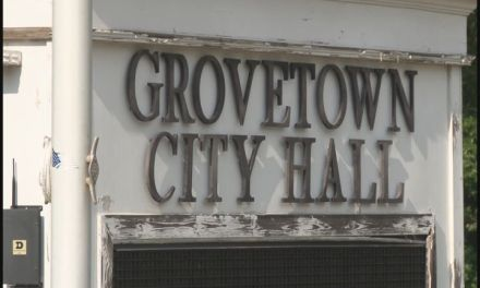City of Grovetown fire hydrant testing