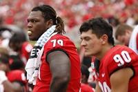 Georgia's Isaiah Wilson could join O-line mix for Notre Dame game