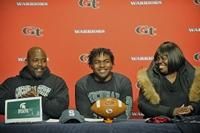 Grovetown defensive end Barrow signs with Michigan State