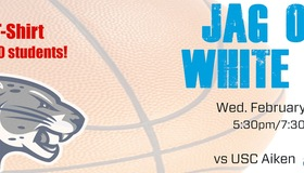 """Augusta Basketball Hosts """"Jag Out"""" for Rivalry Game"""