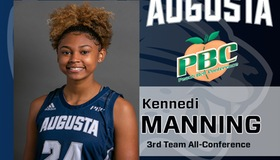 Freshman Kennedi Manning Named Peach Belt All Conference