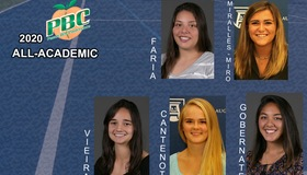 Five From Women's Tennis Named PBC All-Academic