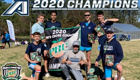 AU Men's Cross Country: Back-to-Back PBC Champions