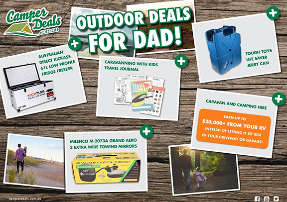 Camper deals – fathers day 2017