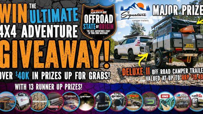 The ultimate 4x4 adventure giveaway!