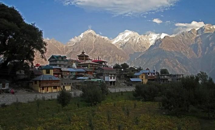 Kalpa in Kinnaur, Himachal