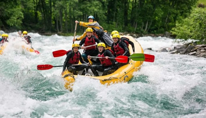 Rafting in Ganges