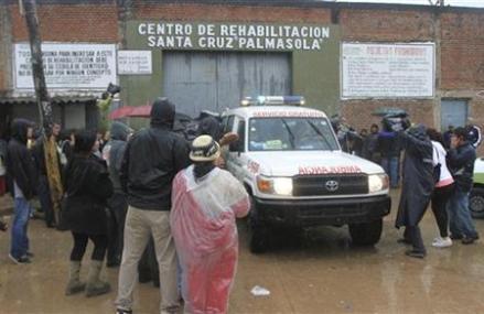 POLICE: AT LEAST 15 DIE IN BOLIVIA PRISON MELEE