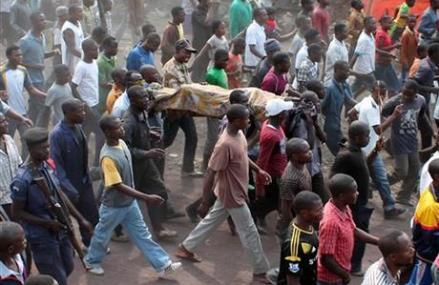 CONGO SOLDIERS, UN FORCES BATTLE M23 REBELS