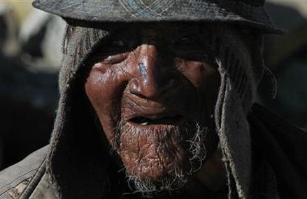 BOLIVIA RECORDS: AYMARA HERDER IS 123 YEARS OLD