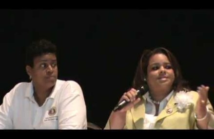Urban Summit Education Cell Host Carl Boyd moderates question & answers session