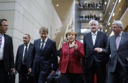 BREAKTHROUGH IN GERMAN COALITION TALKS
