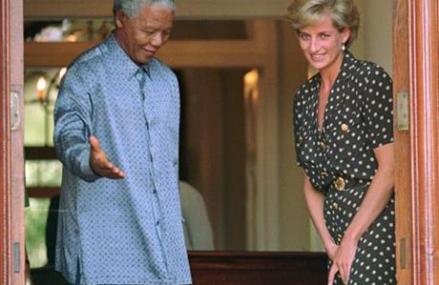NELSON MANDELA, 20TH CENTURY COLOSSUS, DIES AT 95