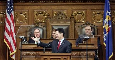 FOR GOVERNORS WITH AN EYE ON 2016, A KEY SPEECH
