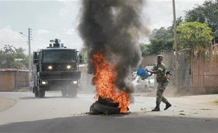 Burundi Red Cross: 6 killed in anti-president protests