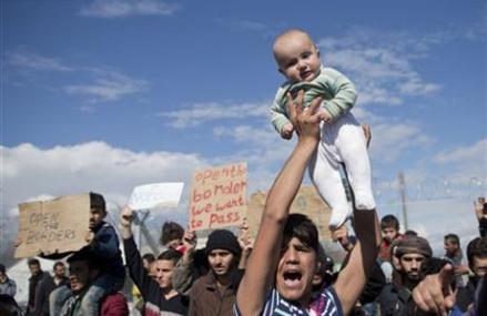 Thousands stranded as Greece becomes a migrant 'warehouse