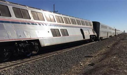 Amtrak train derails in Kansas, injuring at least 32