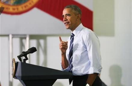 Obama: Deniers of economic gains aren't telling the truth