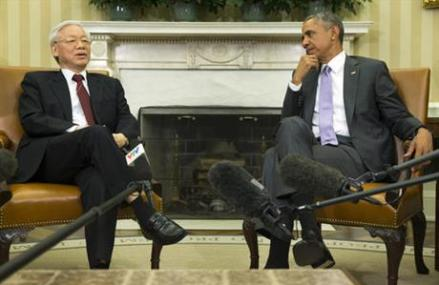 Obama leaves for Asia to boost trade, cooperation