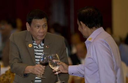 Asian club replete with strongmen welcomes 'Duterte Harry'