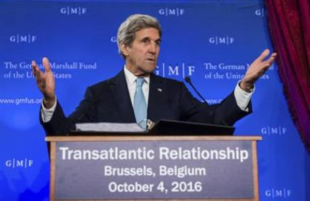 Kerry says US not abandoning peace efforts in Syria