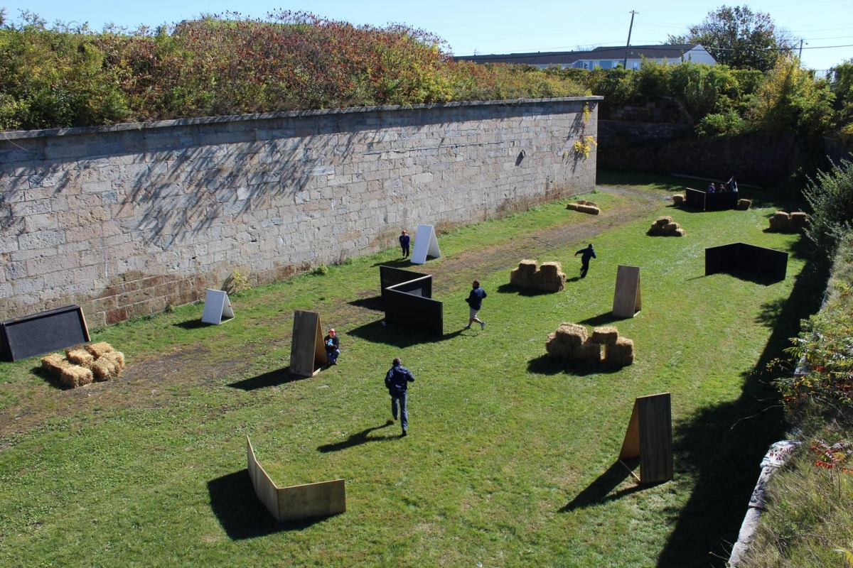 Fort Adams Laser Tag