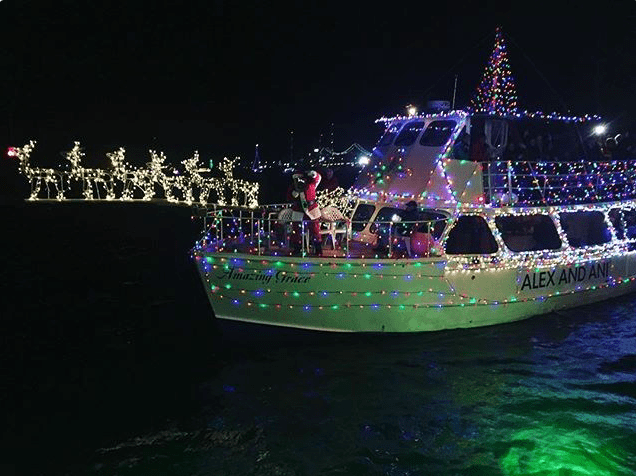 Newport Harbor Illuminated Boat Parade