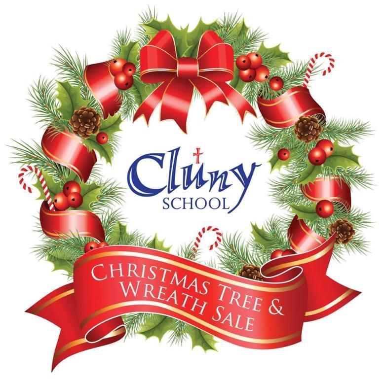 cluny school wreath sale