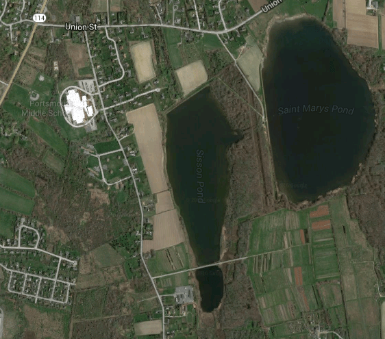Sisson Pond Portsmouth