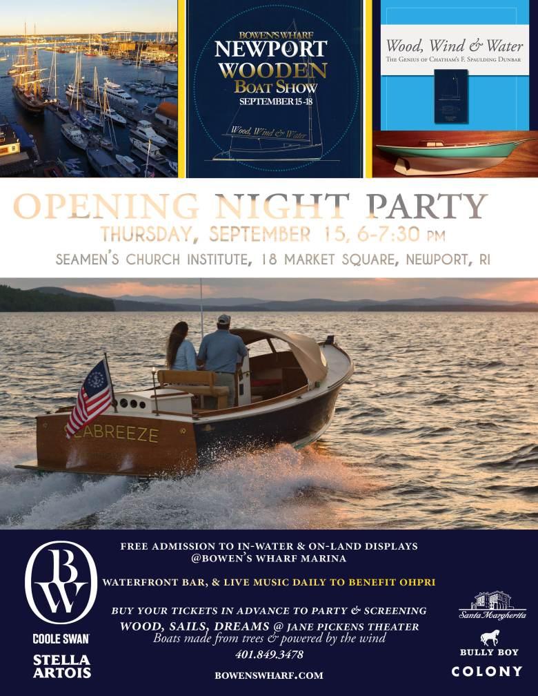InvitationBowensWharfNewportWoodenBoatShowvertical