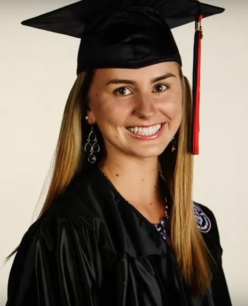 LILLY BESTOSO – CREDIT: Screenshot of Rogers High School graduation video.