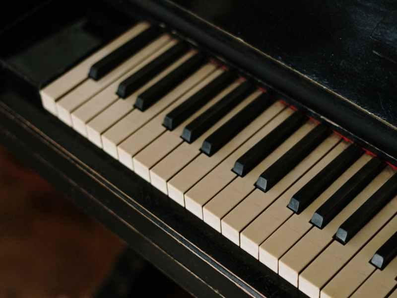 music piano still life vertical