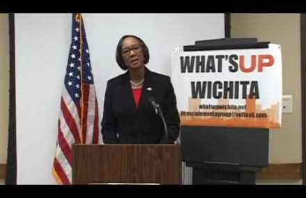 Lavonta Williams first African-American woman to serve as vice mayor of Wichita