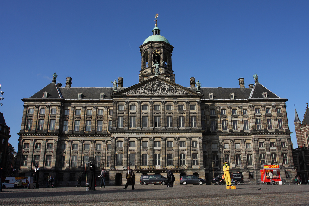 Amsterdam Palace Dam Square