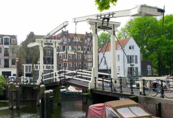 Dutch hanging bridge