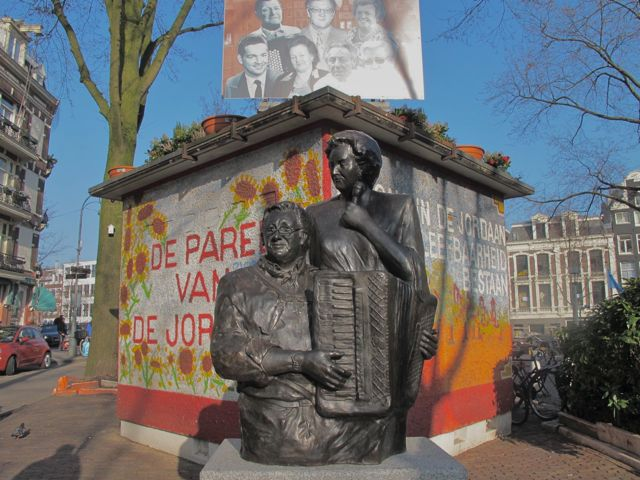 Johnny Jordaan Square, Amsterdam.